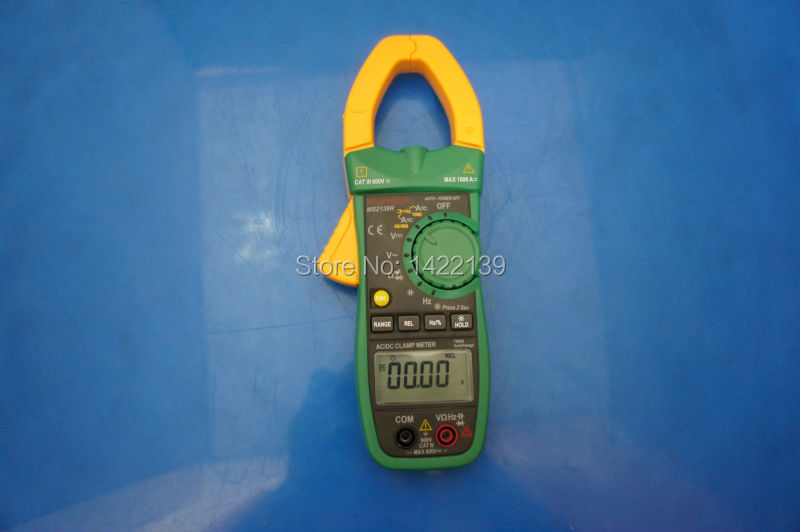 Mastech MS2138R DIGITAL Auto-Ranging True RMS 1000A AC/DC Clamp Meter chicco мини гольф клуб