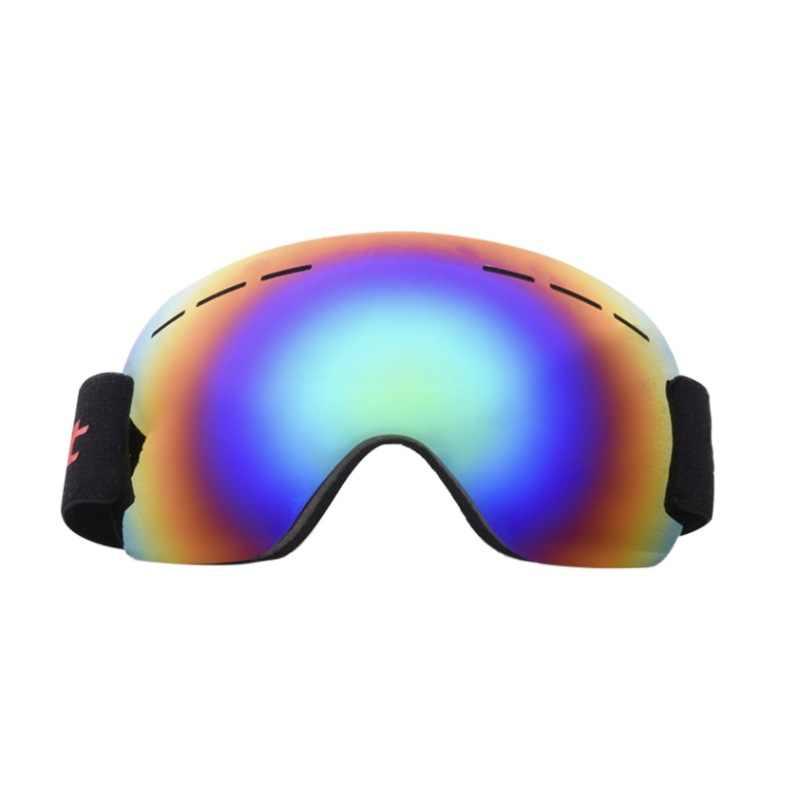 0f8d29829bf New skiing goggles double layers UV400 anti-fog big ski mask ski goggles  men women