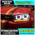 Car Styling for VW Polo Headlights Volkswagen New Polo LED Headlight Cruiser drl Lens Double Beam H7 HID Xenon