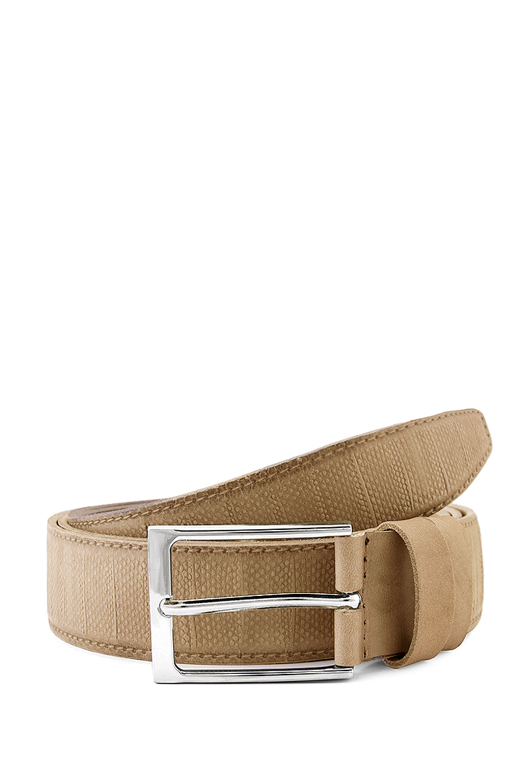 [Available from 10.11] Belt leather men's Greg G21 1 monitor beige beige