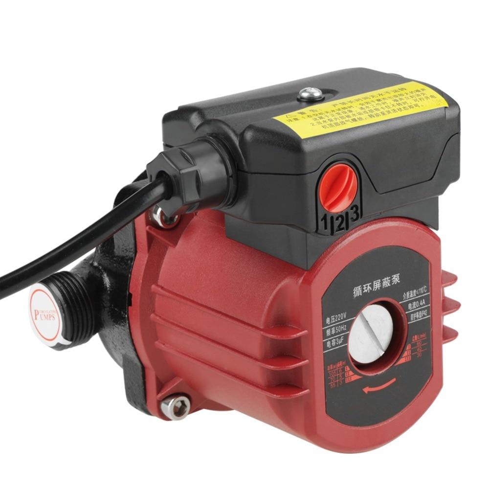 220V 100W Circulation Pump Micro Brushless Motor G1 Thread High Efficiency Circulation Water Pump for Solar