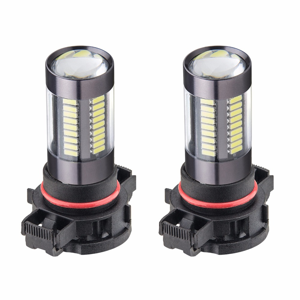2XH11 H8 4014 Chipsets 66 SMD LED 12V Car Truck Driving Bulb Fog Light Lamps Replacement 9005/HB3 9006/HB4 H4 H7 H16,Xenon White ...