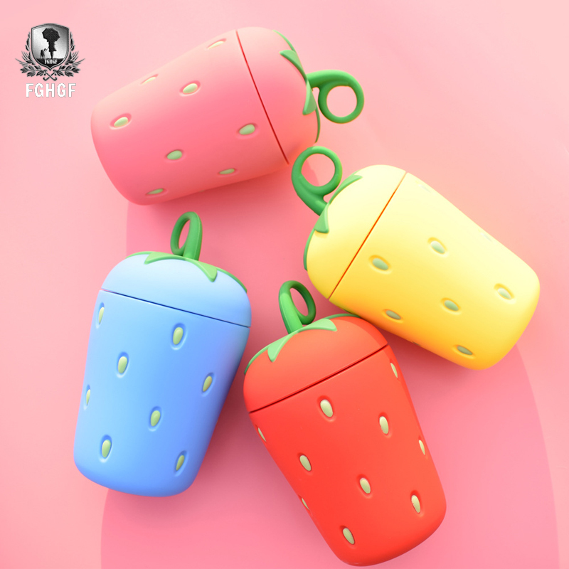 Creative New Child Fruit Water Bottle Cute Strawberry Student Carrying Water Bottle Holiday Gifts Travel Bottle