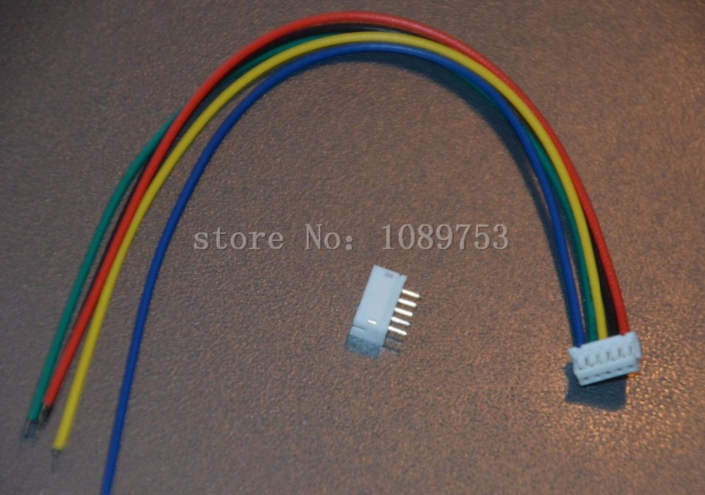 100 Sets JST ZH 1.5mm 5-Pin Female Connector Plug with Wire 10cm/15cm/20cm and Male Connector 50 sets jst zh 1 5mm 6 pin female connector plug with wire 10cm 15cm 20cm and male connector