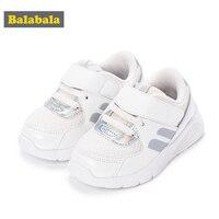 Balabala Children Sneakers with Hook&Loop Fastener Toddler Kids Anti slip Soft Sport Shoes Girls Boys Toddler Running Shoes