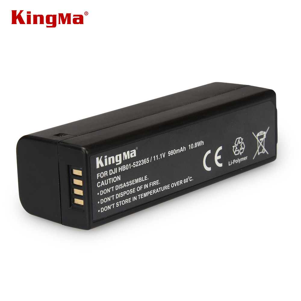 KingMa for DJI Intelligent Battery 11.1V 980mAh Capacity For OSMO Handheld 4K Gimbal Extra Accessories Newly Part 7 Battery