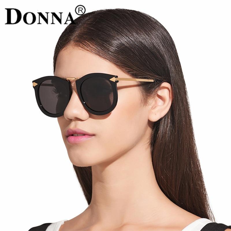 99ba1d43a64e DONNA Polarized Sunglasses Women Gradient Mirrored Glasses Cat Eye Plastic  Hipster Gorgeous UV Vintage Arrow Female Sun Glass 33-in Sunglasses from  Women's ...