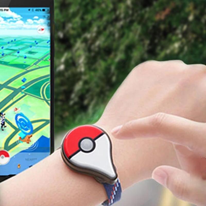For Pokemon Go Plus Bluetooth Wristband Bracelet Watch Game Accessory for Nintendo for Pokemon GO Plus Smart Wristband pokemon go plus work