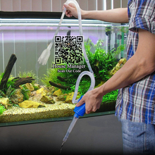 цена на 140cm Aquarium Cleaner Tool Siphon Gravel Suction Pipe Filter for Fish Tank, Vacuum Water Change Pump Tools, pipe tube for water