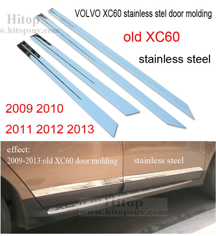 XC60 accessories door moulding trim,body side molding,3 choices,stainless steel or ABS chrome,4pcs/set,2009-2013 or 2014-2016 greenworks 40v g40b4 29727