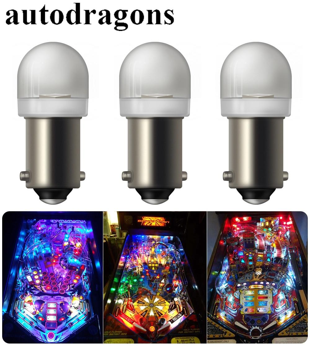 Pinball Machine Playfield Light Bulb Lamps #555 Set of 20