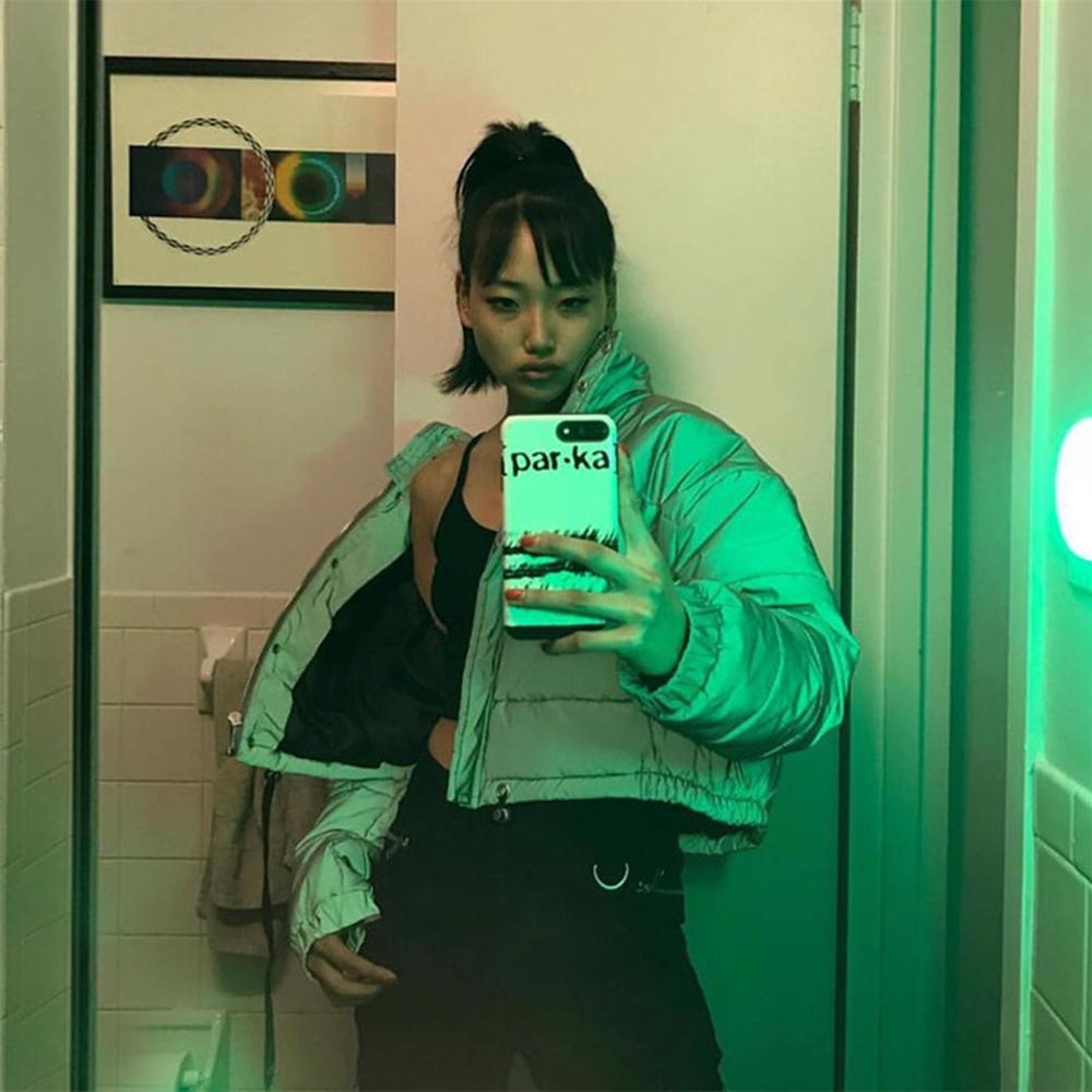 2019 Slim Reflective Short Women's Coats Gary Long Sleeve Pockets Hip Length Puffer Jackets Casual Zipper Cotton Ladies   Parka   To