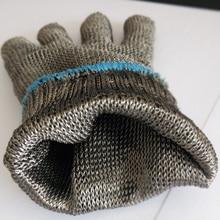 Бесплатная доставка 2 pairs горячий продавать стальной проволоки анти-черенки перчатки безопасности защитные перчатки две пары