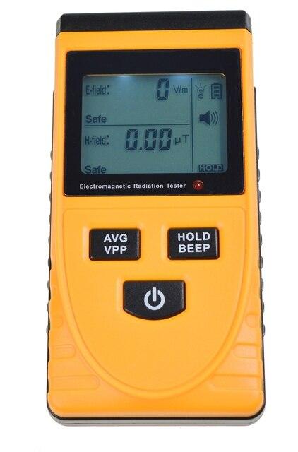 Compteur de rayonnement électromagnétique LCD numérique Anti-mesure de rayonnement électromagnétique détecteur testeur dosimètre capteur GM3120