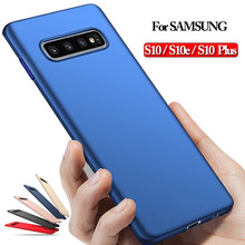 Luxury Hard phone Case for Samsung S10 s10e S10 Plus Ultra Slim Plastic Protective Case for Samsung s10 S10e Original Back Cover стоимость