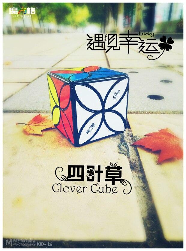 mofangge Клевер Cube Cubo magico твист Puzzle игрушки кубик рубика