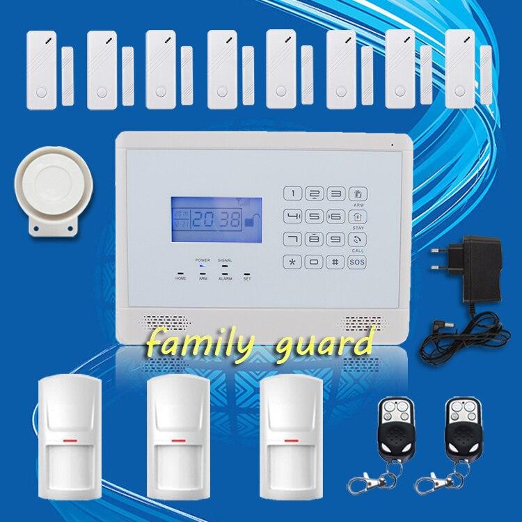 free shipping!APP Autodial Touch Keypad Wireless 3 pcs PIR+8 door Gap sensor GSM SMS Hot Sale Home Security Burglar alarm system mundorf mkp mcap supreme silver gold oil 1000 vdc 2 7 uf