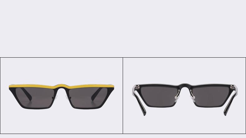 HTB1G69HawjN8KJjSZFgq6zjbVXaW - Winla Fashion Design Women Sun Glasses Flat Top Sunglasses Square Frame Classic Shades Vintage Eyewear Oculos de sol WL1145