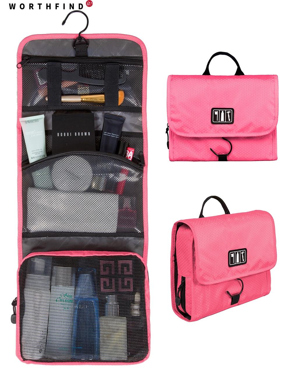 worthfind toiletry makeup bag waterproof cosmetic bag. Black Bedroom Furniture Sets. Home Design Ideas