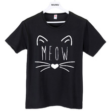 harajuku pop Meow Print Women T shirt Cat T-Shirt Cotton Casual Funny Shirt For Lady Top Tee Hipster бур sds hammer 201 111 8х 110мм