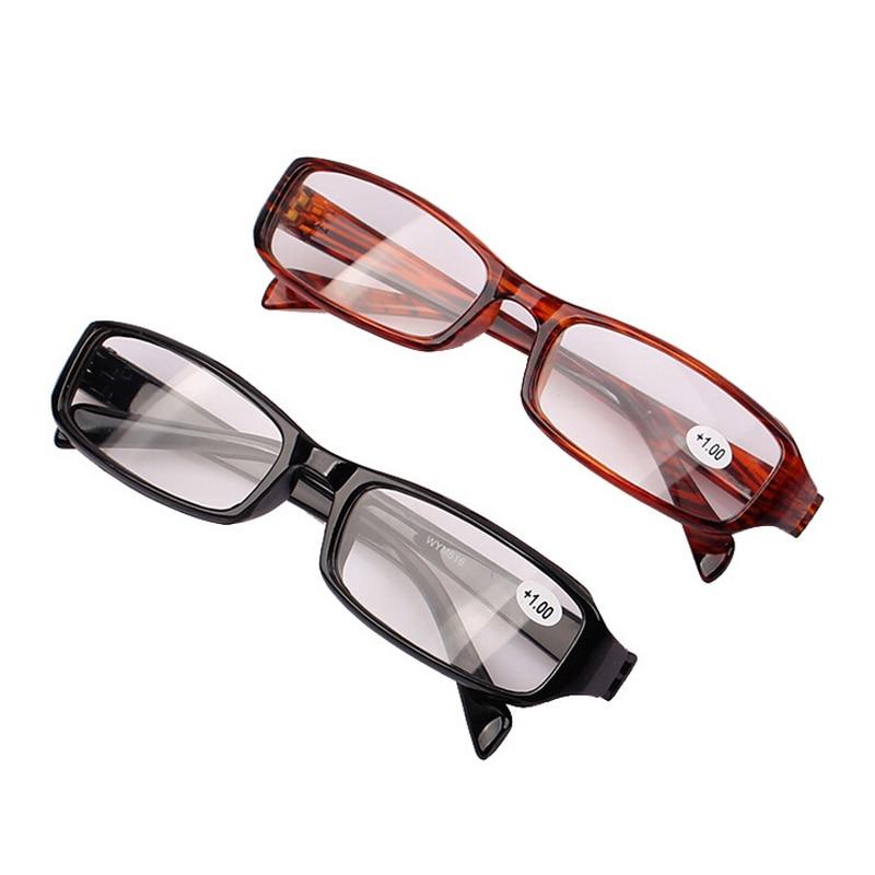 Black Presbyopic Glasses Occhiali Da Lettura +1.00 +1.50 +2.00 +2.50 +3.00 +3.50 +4.00 Diopter Points Read Clear Reading Glasses