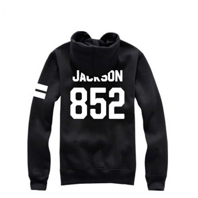 79b82dbe4d9c ₩Kpop got7 jackson same black pullover hoodies for got 7 fans ...