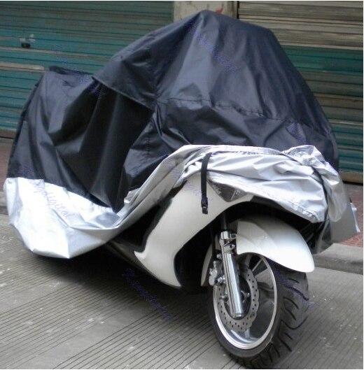Practical UV Waterproof Outdoor Motorbike Protector Rain Dust Bike Motorcycle Cover XXL