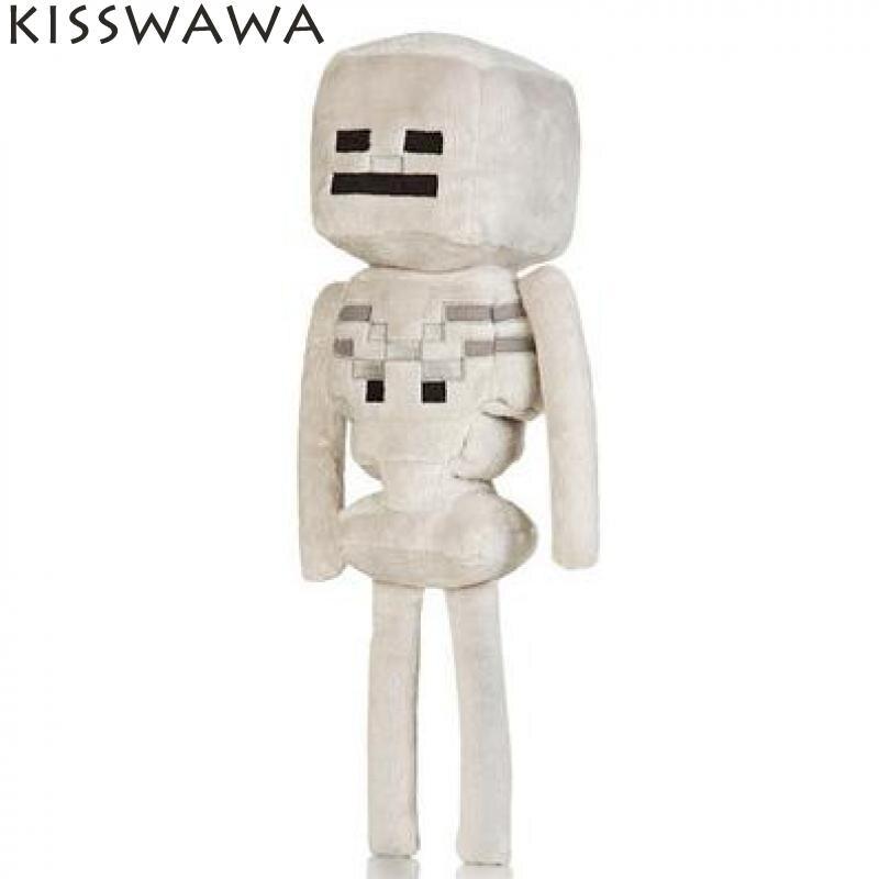 New Arrival Minecraft Plush Toys Minecraft Skeleton Game Cartoon Plush Toys Stuffed Minecaraft Plush Doll Toys