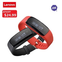 New Original Lenovo HW01 Plus Smart watch Smartband MIO PAI System Bracelet Blutooth4.2 Heart Rate Monitor Band For Android iOS