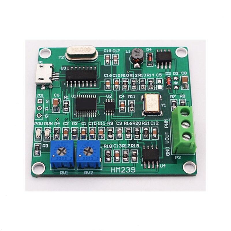 USB DDS générateur de signal générateur de fonction 1 ~ 5 MHz PWM générateur d'impulsion 0 ~ 10 K kit de bricolage M