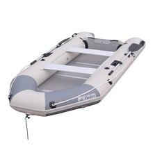 Hider HA-360 inflatable family fishing boat rubber boat PVC material with oar pump repair kit and bag
