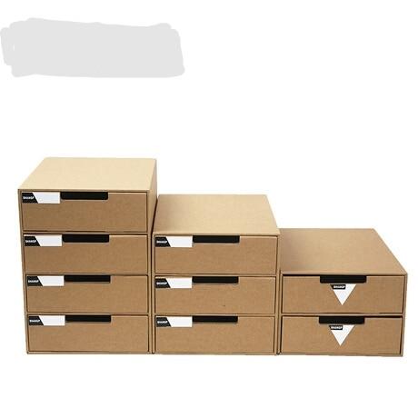 Cool Us 16 73 7 Off Storage Boxes Bins A4 Paper Desktop Storage Box Office Storage Organizer Organizador Folding Multi Layer Drawer Storage Cabinet In Download Free Architecture Designs Rallybritishbridgeorg