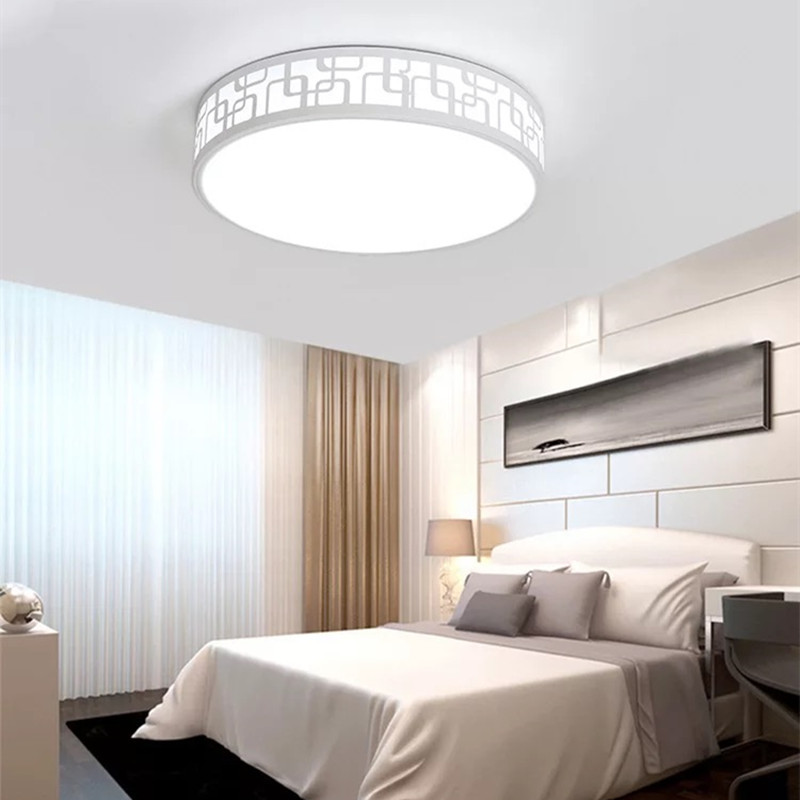 HAWBERRY LED Ceiling Light Indoor Lighting Modern Living Room Bedroom Kitchen Surface Mount Remote Control