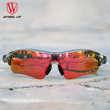 12d361f305 WHEEL UP HD Polarized Cycling Glasses Coating Outdoor Sports Goggles  Waterproof UV400 3 Colors Riding Driving Bicycle Eyewear