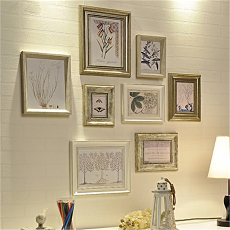 wooden frames new arrival white love heart photo frame wall hanging for wedding picture frames and