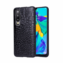 Fitted cases For Huawei P30 case p30 Pro Phone Case Leather phone bag Men Women Water Proof Business Crocodile Pattern