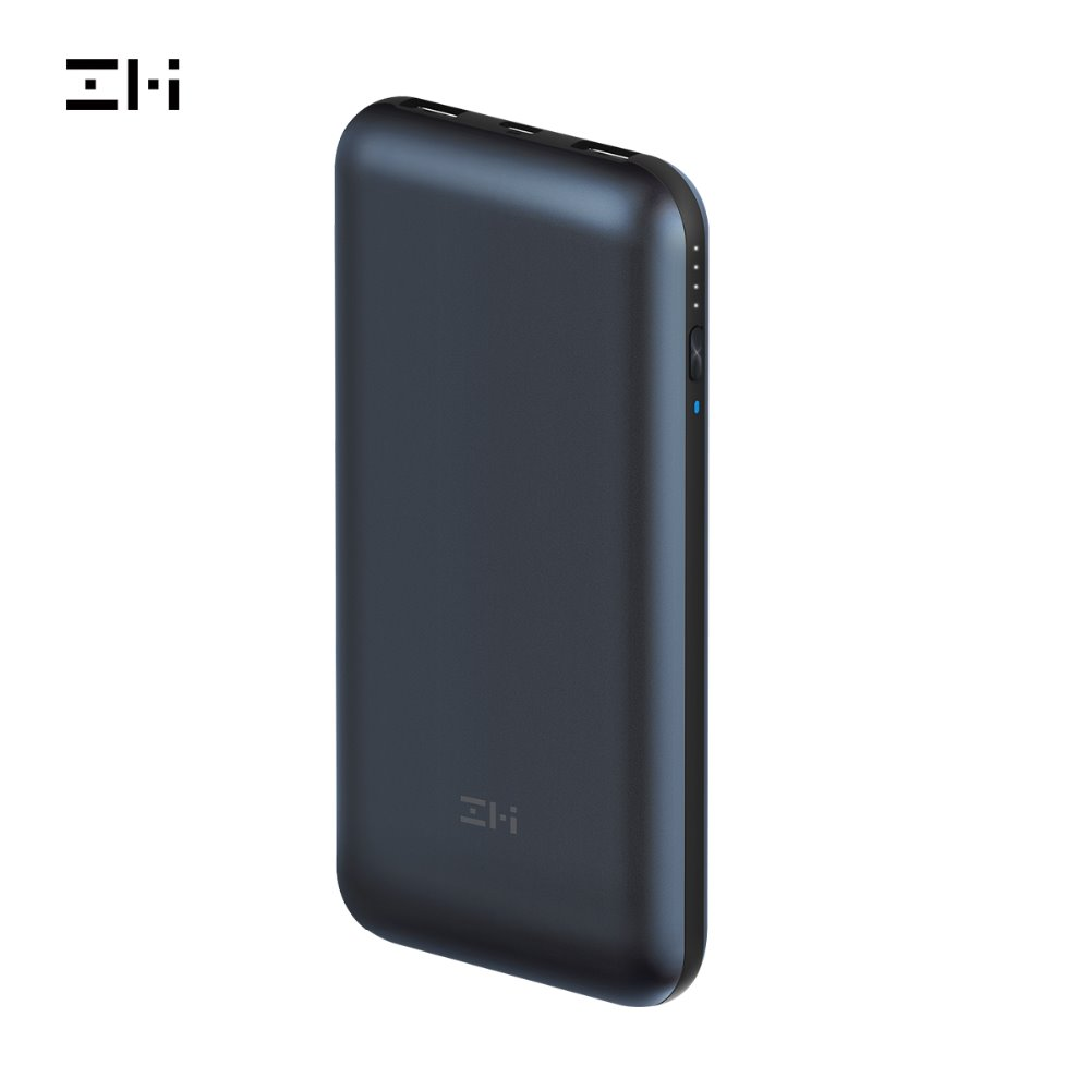 ZMI QB820 QB815 PD Bateria De Backup & Hub USB para MacBook Pro 2016 ou posterior/Pixelbook/Pixel/ iPhone 8 Carga Rápida banco de potência