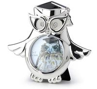 head Arts Crafts deer head Bright silver owl hooded with the creative type of European metal frame drop color glaze with a diam