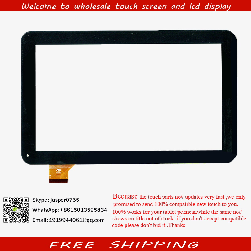 New 10.1 Digma Optima 10.6 Tablet Capacitive touch screen panel Digitizer Glass Sensor Free Shipping