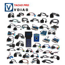 Hot selling Mileage change programmer tacho pro 2008 unlock version odometer Reset Mileage Correction DHL Free Shipping