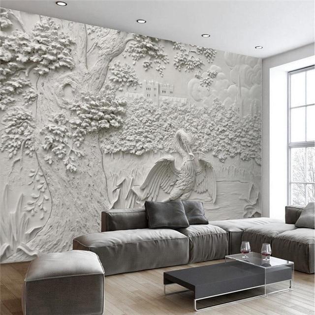 Benutzerdefinierte Jeder Größe Moderne Tapeten Wohnzimmer ...