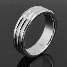 40mm 45mm Stainless Steel Penis Ring Cockring Chastity Loops Male Fetish Scrotum Testicle Lock 2 size Sex Ring G7-1-43