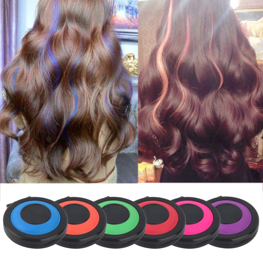 Online coloring tools - 2017 Non Toxic Temporary Hair Styling Soft Dye Powder Easy Wash Salon Tool Hot Selling