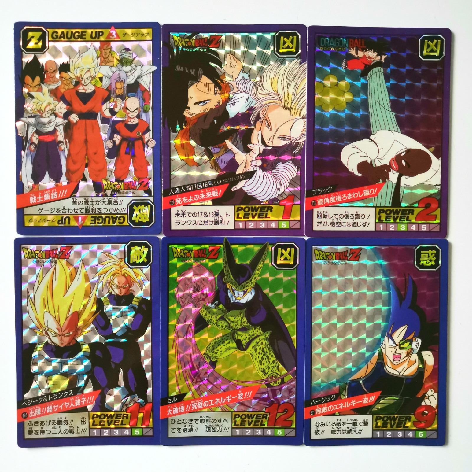 42pcs/set Super Dragon Ball Z Fighting 5 Reissue Heroes Battle Card Ultra Instinct Goku Vegeta Game Collection Cards