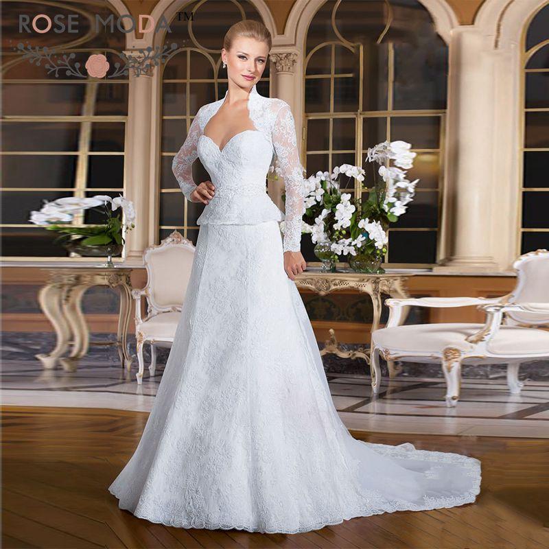 Online buy wholesale peplum wedding dresses from china for Peplum dresses for weddings