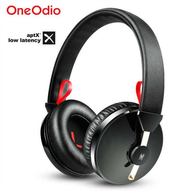 Oneodio A61 AptX Low Latency V4.2 Bluetooth Headphones Over Ear Deep Bass Wireless Headset For Gaming TV Computer Phone With Mic 1