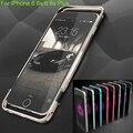 Forte luphie marca liga de alumínio metal frame bumper case de proteção para iphone 6 6 s/6 6 s plus anti-bater