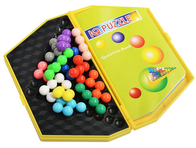 Klasične IQ perle Logic Mind Mozgalice Djeca Obrazovna igra Igračke - Igre i zagonetke - Foto 2