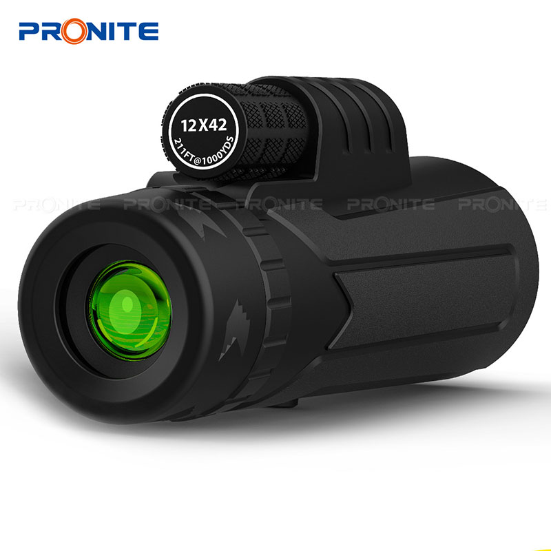 Image 5 - Professional Monocular Zoom 10x42 BAK4 Prism Telescope HD Monocular Hunting Scopes Turizm Spyglass With Phone Holder/Tripod-in Monocular/Binoculars from Sports & Entertainment