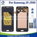 1 pcs de alta cópia para samsung galaxy j5 j500 j500f j500m display lcd com tela de toque digitador assembléia + ferramenta 20pin